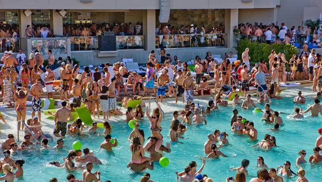 Wet Republic at MGM Grand in Las Vegas has a popular summer pool party.