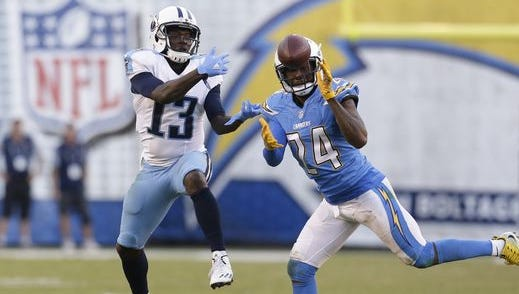 The Titans-Chargers game Sunday in San Diego was the most-watched sports event in the Nashville market last week.