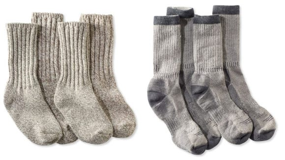Keep your feet nice and toasty with these socks.