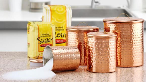 """Stashing your dry goods in canisters is the epitome of """"adulting."""""""