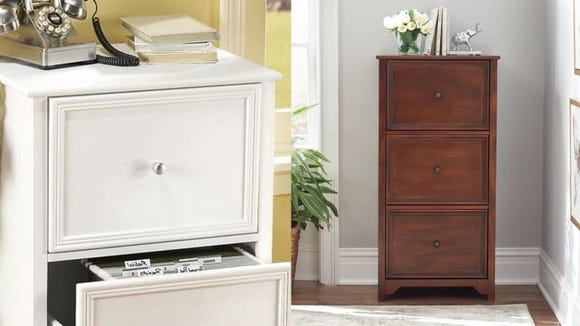 File cabinets are functional, but they can look pretty too.