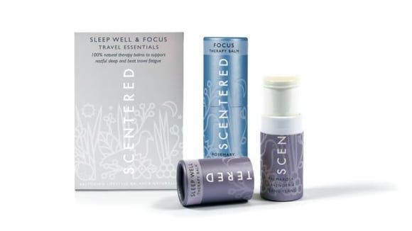 Aromatherapy balms help me regulate my sleep and stay focused.