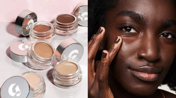 Glossier's concealer is moisturizing and subtle—perfect for tired eyes.