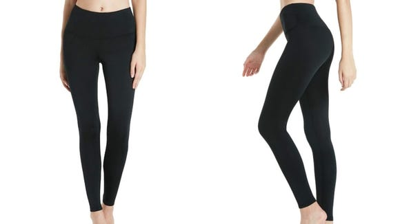 Warm leggings will be a lifesaver on windy days.