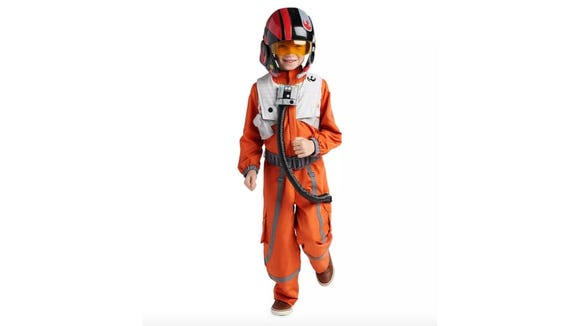 A flight suit fit for the best pilot in the Resistance.