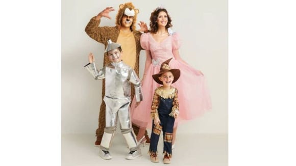You can't go wrong with a Wizard of Oz costume.