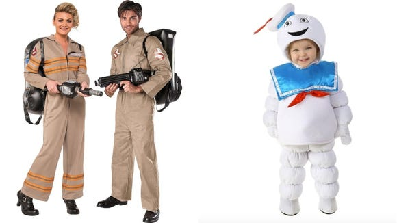 Don some coveralls and turn your toddler into the Stay Puft Marshmallow.