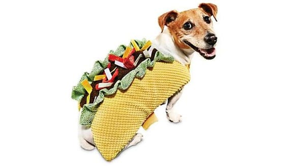 A cute dog dressed as your fave fast food? Resistance is futile.