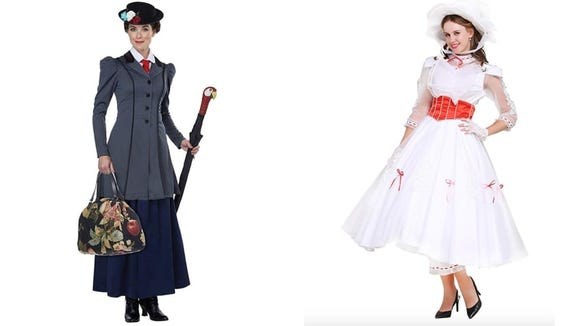 England's finest stern nanny is a great option for a costume that keeps you covered up.