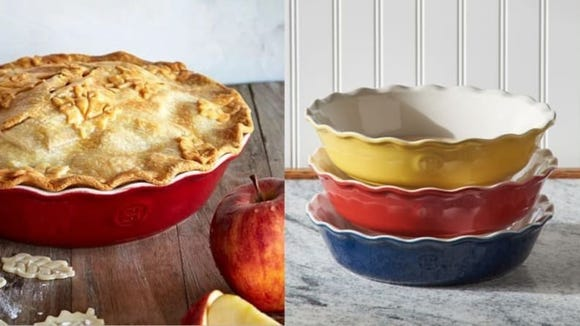 Our favorite pie dish comes in three gorgeous colors.