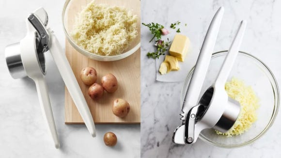 You'll need a potato ricer if you want fluffy mashed potatoes.