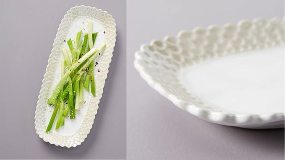 Playful serving trays can add a lot to your dinner table.