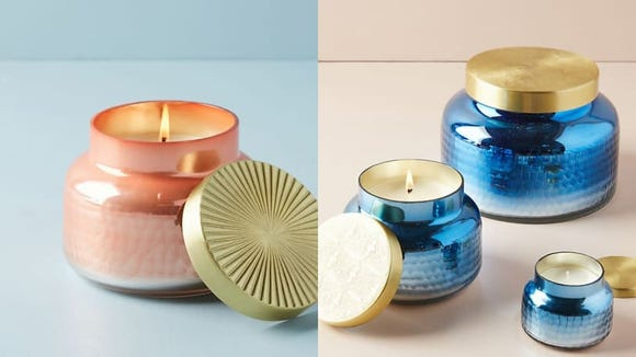 Best gifts under $50: Capri candle by Anthropologie