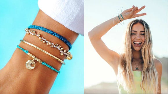 Best gifts under $50: Pura Vida Monthly Bracelet Club