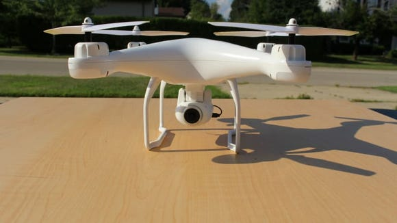 This drone would make a great gift for dad.
