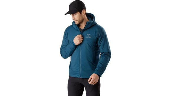 Staying warm—but not sweaty—on the slopes is easy with this jacket.