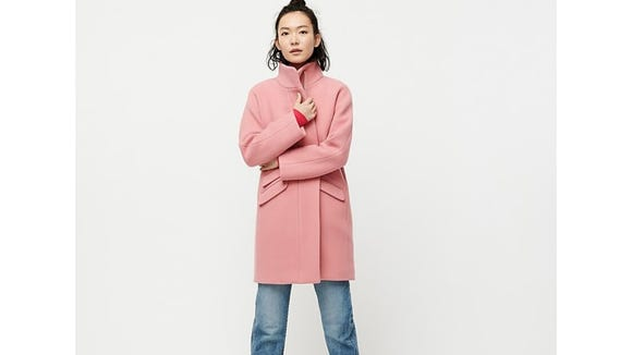 If you want to look like a fashion blogger, you want this coat.