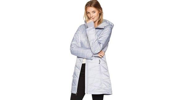 A long, sleek, and stylish coat? Yes please.