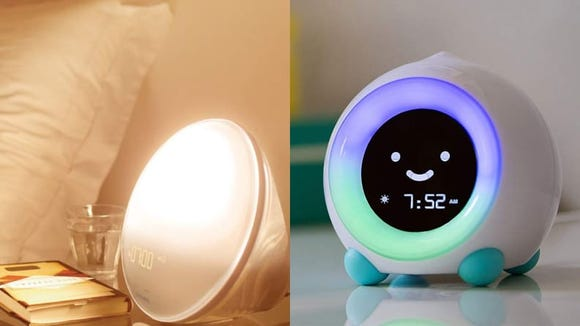 These clocks mimic the sun, even if your room is dark.