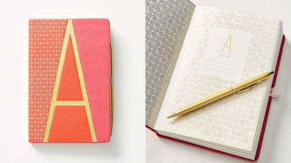 This journal adds a personal touch for the writer on your gift list.