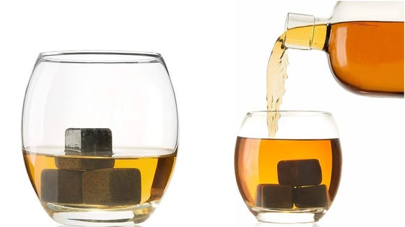 These whiskey stones will keep drinks cool, but not watered down.
