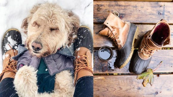 These boots are essential during the colder months.