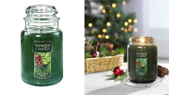 Get the sweet smells of a winter wonderland during the last few month of the year.