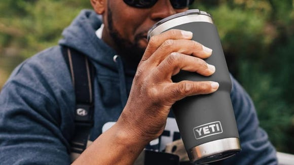 Yeti tumblers are great at keeping coffee warm and hearts happy.
