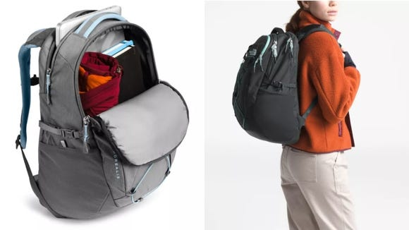 People love this spacious North Face backpack.