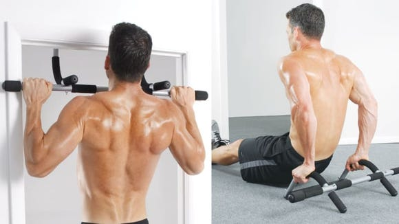 There are three grips so you can switch up your workout.
