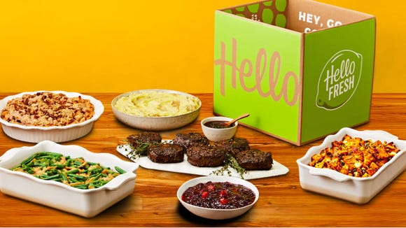 HelloFresh offers an entire Thanksgiving box that feeds up to 10.