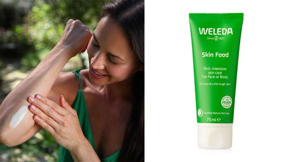 For extra rough patches of skin, turn to the Weleda Skin Food.