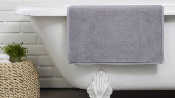 Sink your toes into this plush bath mat after each shower.
