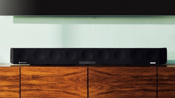 Fill the room with your favorite tunes with an immersive soundbar.