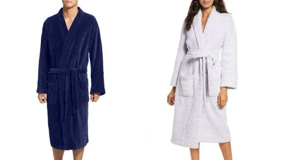 Who could say no to a bathrobe?