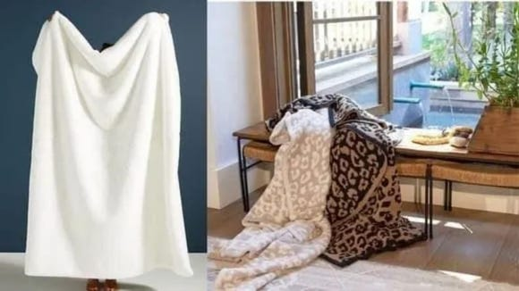 A deliciously soft blanket you can get for less than $40? Yes please.