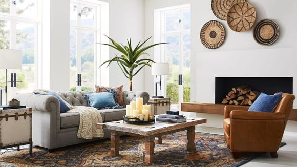 Anything you buy at Pottery Barn will last for years to come.