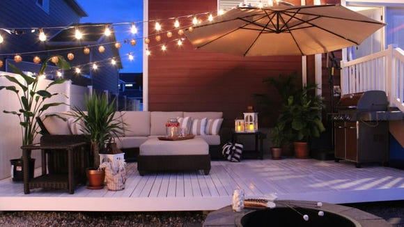 Home Depot offers home furnishings for both inside and outdoors.