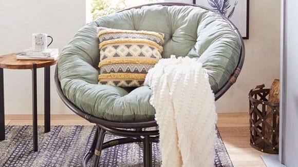 Pier 1 still sells their iconic (and super cozy) papasan chairs.