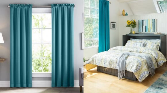 Affordable curtains that can block out the sun? I'll take 12.