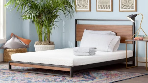 This comfy memory foam mattress is well-loved among reviewers.
