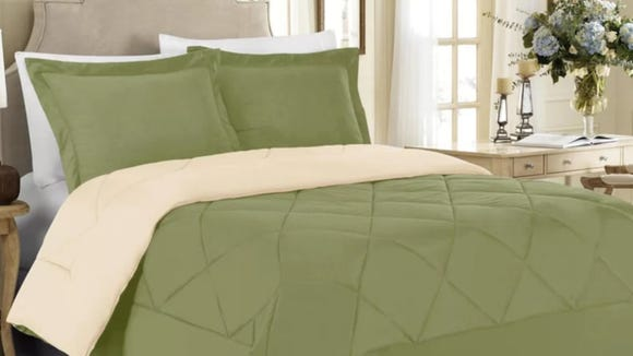 What's better than an affordable comforter? A reversible one.