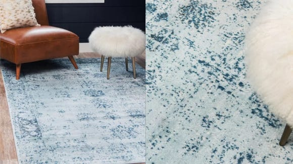 This amazing rug is large enough to fit most areas and gorgeous enough to stand out on its own.