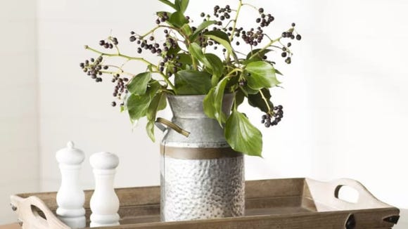 This vase makes a great centerpiece on your coffee table.