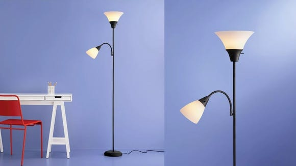 This lamp is perfect as a reading light and display light.