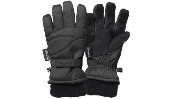 Kids' hands will be warm and dry in this pair.