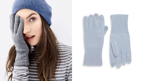Cashmere adds an extra feel of luxury to the winter.