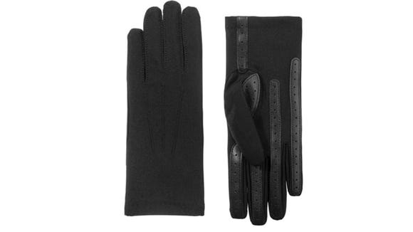 With spandex and fleece, these gloves look and feel great.