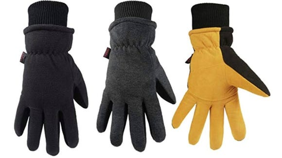 Affordable and warm, these gloves are a great winter companion.