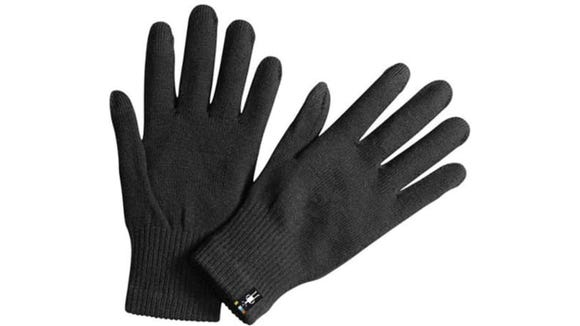 These thin gloves work nicely on their own or under another pair.
